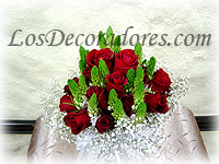 Bouquet rojo