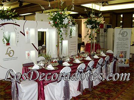 losdecoradores, wedding planners, decoración de eventos