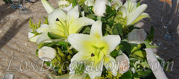 Decoraciones Florales Con Rosas Lirios Tulipanes Y Otras